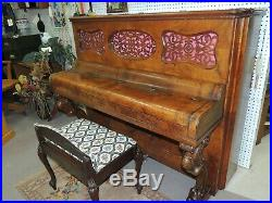 1877 Steinway & Sons 47 Upright Piano