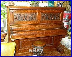 1888 IVERS & POND Upright piano