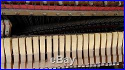 1889 Upright Piano Antique Original Fischer Victorian Free Local Pickup CA