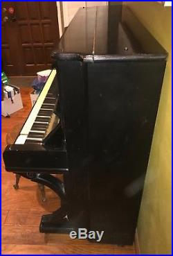 1890s Steinway & Sons Upright Piano