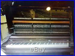 1898 Henry F Miller Upright grand Piano, imported Honduran Mahogany