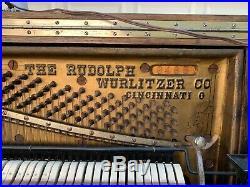 1903 Wurlitzer Pianino with Rolls