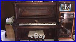 1908 Hamilton Upright Piano