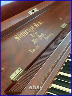 1908 Steinway Vertegrande Upright Piano