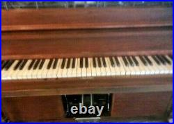 1910 Howard Manualo Player Piano with Rindy Dink sound