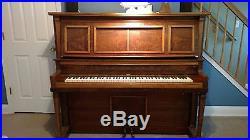 1911 Lauter Upright Grand Player Piano