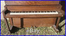 1922 Gulbransen Piano
