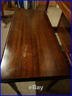 1952 Vintage Lester Betsy Ross 3-pedal Spinet Piano with bench