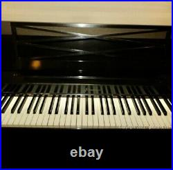 1963 Black Baldwin Acrosonic piano with bench Serial # 740282 LOCAL PICK UP ONLY