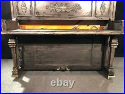 1965 STEINWAY & SONS 45 UPRIGHT PIANO BROADWAY SHOW SHELL for Electric Keyboard