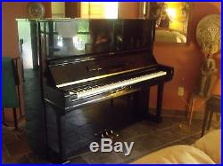 1970's Yamaha U3 Black Upright Piano