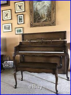 1972 Sohmer 45SK Rock Maple Console Piano (100th Anniversary Edition)