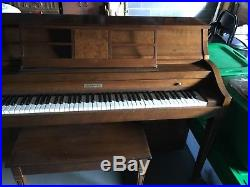 1976 Baldwin Piano (Light Brown, Very Good Condition)