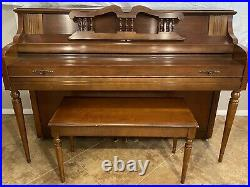 1976 Everett Piano with Bench Model Number 4103