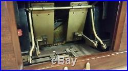 1983 Stauch Bros Player Piano, Mahongany pump player ser 83914