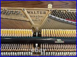 1986 Charles R. Walter Upright Piano