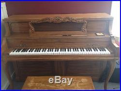 1987 Baldwin Acrosonic Upright Piano From M. Steinhert & Sons