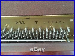 1994 Yamaha P22 Studio Upright 88-Key Piano