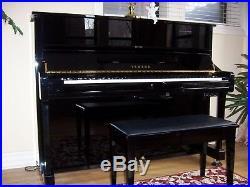 1995 Yamaha Upright Piano Model MP100 Silent Series