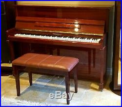 2001 Stigerman Piano Upright, German Design, Excellent Condition