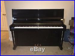 2003 Petrof 115 45 Handmade European Upright Piano