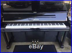 2005 Yamaha U1 Upright Piano Polished Ebony