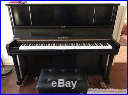 2008 Kawai K5 Professional 49 upright piano in superb condition