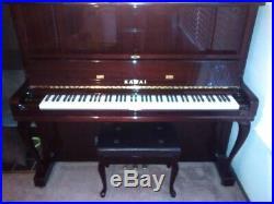 51.5 Inch Upright Kawai Piano