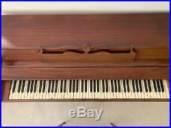 55 Wurlizter Upright Piano with Seat
