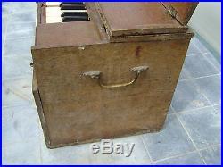 Ancien Piano a soufflet Touzaa et HOUPIN (piano d'école début 1900 RARE)