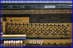 Antikes Klavier Blüthner Piano Original 1916 schwarz lackiert warmer Klang