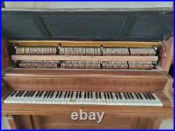 Antique 1888 W. W kimball upright piano