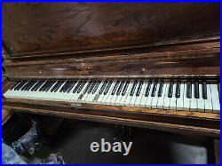 Antique C. Kurtzmann piano