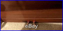 Antique FRANCIS BACON Small CHILD'S PIANO & BENCH Restored Local Pickup