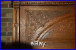 Antique Hamilton Upright Cabinet Grand Piano