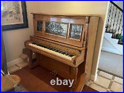 Antique Player Piano Kohler & Campbell 52 Inch
