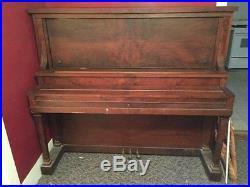 Antique Starck Cabinet Grand Piano
