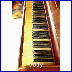Antique Steinway Rosewood Upright Piano Circa 1874 Serial Number 29283