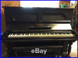 Antique Steinway & Sons upright piano (circa 1876)