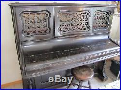 Antique, Upright Emerson Piano, Circa 1885's PRICE LOWERED