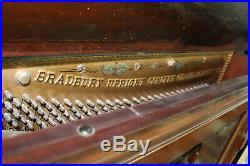Antique Upright Grand Piano 1890