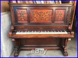 Antique, Upright Kimball Piano, Circa 1890's