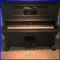 Antique Wing & Son 1929 upright piano