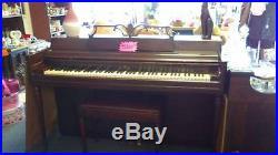 Antique Wurlitzer Spinet Piano