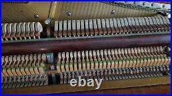 Antique, vintage, ornate, Walnut, upright piano, Bush and Lane, good condition