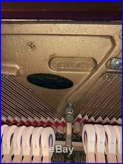 BALDWIN ACROSONIC SPINET PIANO with piano bench circa 1960-1965