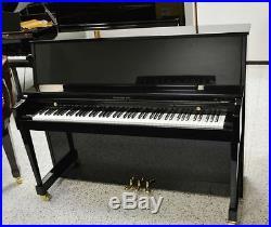 Baldwin 215 Hamilton Professional Upright Piano Ebony Polish