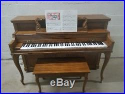 Baldwin, Acrosonic Console Piano #4013 Pecan