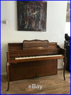 Baldwin Acrosonic Console Upright Piano 40 1/2 Satin Walnut