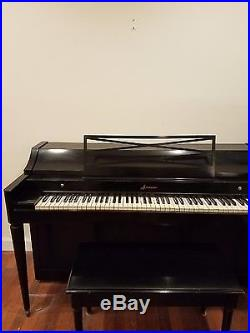 Baldwin Acrosonic Ebony Piano/88keys in perfect condition a real collectors item
